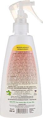Несмываемый кондиционер для волос - Bione Cosmetics Keratin + Argan Oil Leave-in Conditioner With Panthenol — фото N2