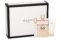 Parfumuri și produse cosmetice Gucci Guilty Pour Femme - Set (edp/90ml + edt/7.4ml + b/lot/50ml