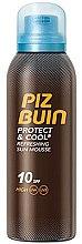 Parfumuri și produse cosmetice Spumă de corp - Piz Buin Protect & Cool Refreshing Sun Mousse SPF10