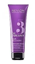 Parfumuri și produse cosmetice Șampon cu efect de blocare a părului pentru a extinde rezultatul măștii de regenerare - Revlon Professional Be Fabulous Hair Recovery Cuticle Sealer Shampoo