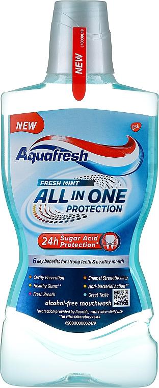 Agent de clătire pentru cavitatea bucală - Aquafresh All In One Protection — Imagine N1