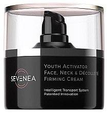 Parfumuri și produse cosmetice Cremă de față - Sevenea Youth Activator Face, Neck & Decollete Firming Cream