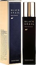 Parfumuri și produse cosmetice Emulsie cu extract de mucină de melc negru - Holika Holika Prime Youth Black Snail Repair Emulsion