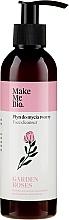 Parfumuri și produse cosmetice Spumă de curățare pentru față - Make Me Bio Garden Roses Face Cleanser