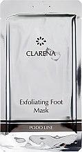 Parfumuri și produse cosmetice Mască exfoliantă pentru picioare - Clarena Exfoliating Foot Mask