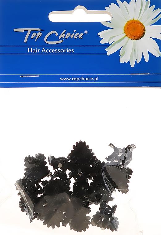 Заколка для волос 25204, черная - Top Choice — фото N1