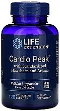 """Parfumuri și produse cosmetice Suplimente alimentare """"Cardiotonic cu păducel și arjuna"""" - Life Extension Cardio Peak With Standardized Hawthorn And Arjuna"""