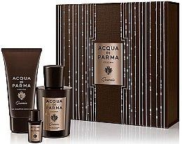 Parfumuri și produse cosmetice Acqua di Parma Colonia Quercia - Set (edc/100ml + edc/5ml + sh/gel/75ml)