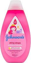 Parfumuri și produse cosmetice Șampon de păr pentru copii - Johnson's Baby Shiny Drops Shampoo