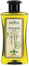 """Parfumuri și produse cosmetice Șampon de păr """"Volum"""" cu keratină și extract de miere - Melica Organic Volume Shampoo"""