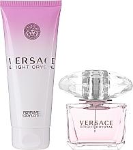 Versace Bright Crystal - Набор (edt 90ml + b/l 100ml) — фото N2