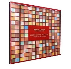 Parfumuri și produse cosmetice Farduri de ochi, 196 nuanțe - Makeup Revolution 196 Creative Palette Eyeshadow Palette