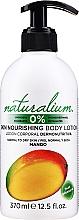 """Parfumuri și produse cosmetice Loțiune de corp nutritivă """"Mango"""" - Naturalium Body Lotion Mango"""