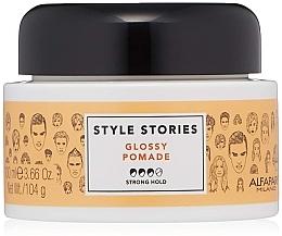 Духи, Парфюмерия, косметика Помада сильной фиксации для волос - Alfaparf Milano Style Stories Glossy Pomade Strong Hold