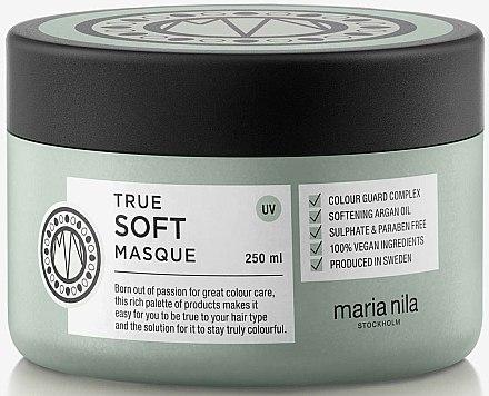 Mască hidratantă pentru păr - Maria Nila True Soft Masque — Imagine N1