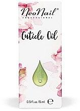 """Parfumuri și produse cosmetice Ulei pentru cuticule """"Vanilie"""", cu pipetă - NeoNail Professional Cuticle Oil"""