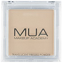 Parfumuri și produse cosmetice Pudră transparentă pentru față - MUA Translucent Pressed Powder