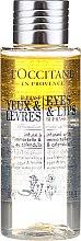 Parfumuri și produse cosmetice Demachiant pentru buze și ochi - L'Occitane Eye & Lips Bi-Phase Make-Up Remover