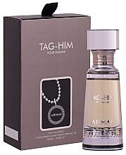 Parfumuri și produse cosmetice Armaf Tag Him Pour Homme Non Alcoholic Perfume Oil - Ulei parfumat