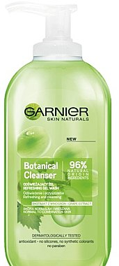 Gel de spălare - Garnier Skin Naturals Botanical Grape Extract