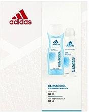 Parfumuri și produse cosmetice Set - Adidas Climacool Women (sh/gel/250ml + deo/spray/150ml)