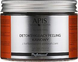 """Parfumuri și produse cosmetice Scrub-detox de cafea """"Portocală"""" pentru corp - Apis Professional Detoxifying Coffee Scrub Orange"""