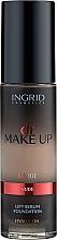 Parfumuri și produse cosmetice Fond de ten - Ingrid Cosmetics Lift Serum Foundation SPF8