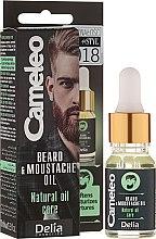 Parfumuri și produse cosmetice Ulei pentru barbă - Delia Cameleo Men Beard and Moustache Oil