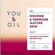 Parfumuri și produse cosmetice Săpun nutritiv pentru pielea matură - You & Oil Nourish & Energise Mature Skin