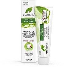 """Parfumuri și produse cosmetice Pastă de dinți """"Aloe Vera"""" - Dr. Organic Aloe Vera Whitening Toothpaste"""