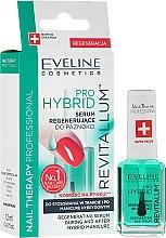 Parfumuri și produse cosmetice Ser pentru unghii - Eveline Cosmetics Nail Therapy Professional Revitalum Pro Hybrid