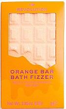 """Parfumuri și produse cosmetice Bombă pentru baie - I Heart Revolution Chocolate Bar Bath Fizzer """"Orange"""""""