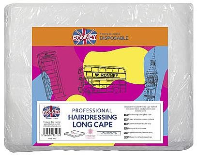 Pelerină pentru coafor - Ronney Professional Hairdressing Long Cape