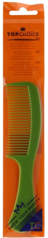 Pieptene pentru păr 60304, verde - Top Choice — Imagine N1
