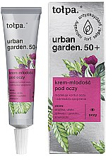 Parfumuri și produse cosmetice Cremă pentru zona ochilor - Tolpa Urban Garden 50+ Eye Cream