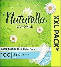 Parfumuri și produse cosmetice Absorbante pentru fiecare zi, 100 bucăți - Naturella Camomile Light