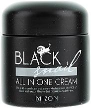 Parfumuri și produse cosmetice Cremă cu extract de melc negru - Mizon Black Snail All In One Cream