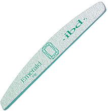"""Parfumuri și produse cosmetice Pilă de unghii """"Smarald"""", 180/180 - IBD Emerald File"""