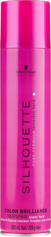 Lac pentru păr vopsit - Schwarzkopf Professional Silhouette Color Brilliance Hairspray