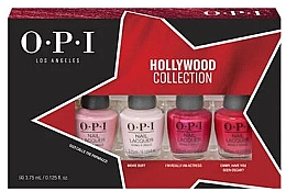Parfumuri și produse cosmetice Набор - O.P.I. Hollywood Collection Nail Lacquer Set