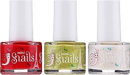 Parfumuri și produse cosmetice Set lacuri de unghii - Snails Festive Mini