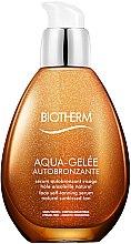 Parfumuri și produse cosmetice Ser pentru bronz - Biotherm Aqua-Gelee Autobronzante