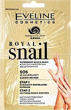 Parfumuri și produse cosmetice Mască pentru mâini - Eveline Cosmetics Royal Snail Sos Regenerating Hand Treatment