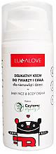 Parfumuri și produse cosmetice Cremă blândă pentru copii - Lullalove Baby Lotion For Face & Body