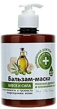 Parfumuri și produse cosmetice Balsam mască Drojdie de bere și ulei de măsline  - Medic de familie