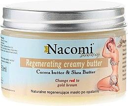 Parfumuri și produse cosmetice Ulei regenerator după plajă - Nacomi Sunny Regenerating Creamy Butter