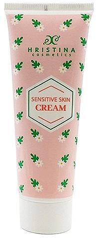 Cremă pentru piele sensibilă - Hristina Cosmetics Sensitive Skin Cream — Imagine N1
