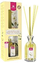 "Parfumuri și produse cosmetice Difuzor aromatic ""Iasomie și Flori albe"" - Cristalinas Reed Diffuser"