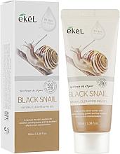 Parfumuri și produse cosmetice Peeling cu mucină de melc negru - Ekel Natural Clean Peeling Gel Black Snail