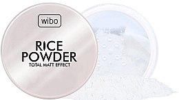 Parfumuri și produse cosmetice Рисовая пудра - Wibo Rice Powder